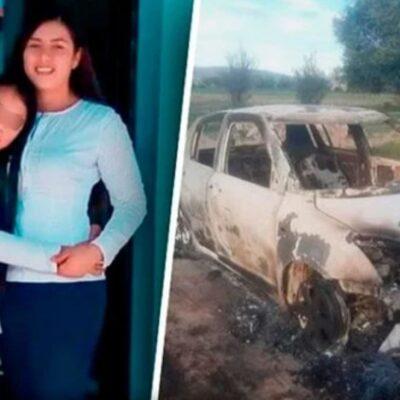 Madre y menor son calcinadas dentro de un auto en Puebla; sospechan de expareja
