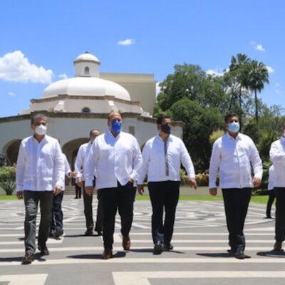 Siete gobernadores ofrecen a Alfaro 'solidaridad y respaldo' contra 'provocaciones'