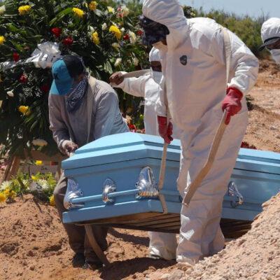 México acumula 12 mil 545 muertes por COVID-19 y 18 mil 377 casos activos
