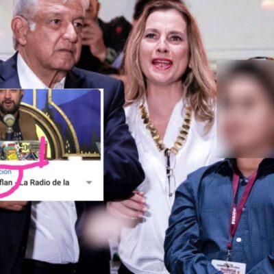 A su estilo, Chumel Torres ofrece disculpas a Beatriz Gutiérrez y su hijo