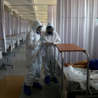 TRÁGICO DOMINGO PARA MÉXICO ANTE EL COVID-19: Reportan 1,044 muertos, el segundo día con mayor número de decesos por el virus