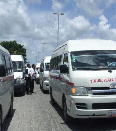 Mañana reactivarán transporte foráneo en Felipe Carrillo Puerto