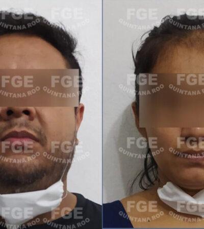Vinculan a proceso a un hombre y una mujer por abuso sexual de una menor de edad en Cancún