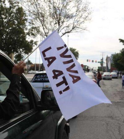 Pide AMLO a simpatizantes no realizar caravanas de apoyo a la 4T
