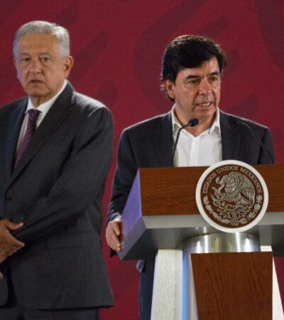 Panistas ponen queja ante el INE contra AMLO y Jesús Ramírez