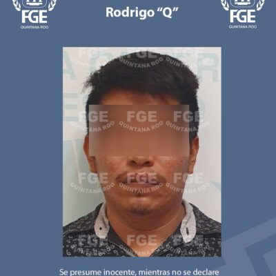 Captura FGE en Playa a presunto ladrón de una casa de empeño  en Tulum