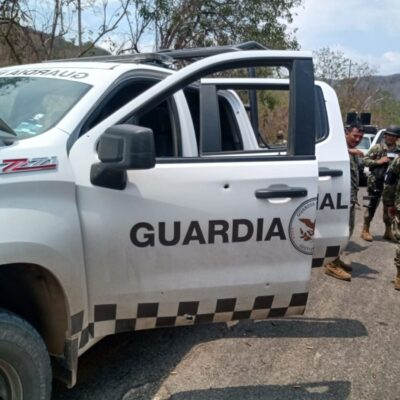 Difunden video de emboscada a Guardia Nacional en Michoacán