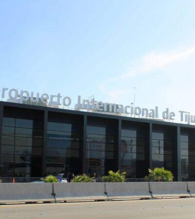 LAS 'LUCHAS' DE BONILLA: Exige pago de 27 mdp por agua potable al aeropuerto de Tijuana