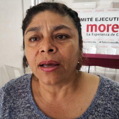 Morena destituye a su secretaria general en Campeche, Patricia León López