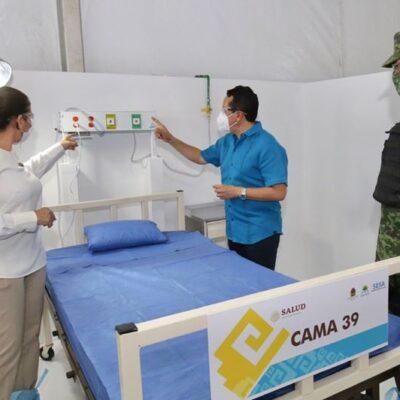 Van más 743 mdp invertidos para atender la contingencia sanitaria en QR