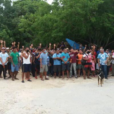 INVASIÓN EN CALIENTE EN AKUMAL: Alrededor de 250 familias se apoderan de un amplio terreno del gobierno de QR