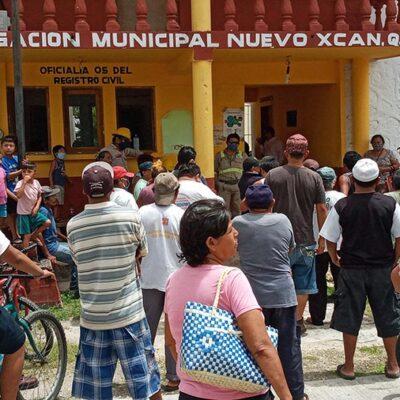 EL PUEBLO SE PONE BRAVO EN NUEVO XCÁN: Retienen cardenenses otra vez a empleados de la CFE por altos cobros y cortes