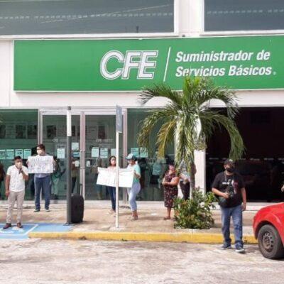 Convocan a chetumaleños a participar mañana en una manifestación pacífica contra CFE
