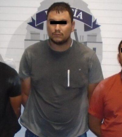 Capturan a trío de pistoleros que retenían a paramédicos en Cancún