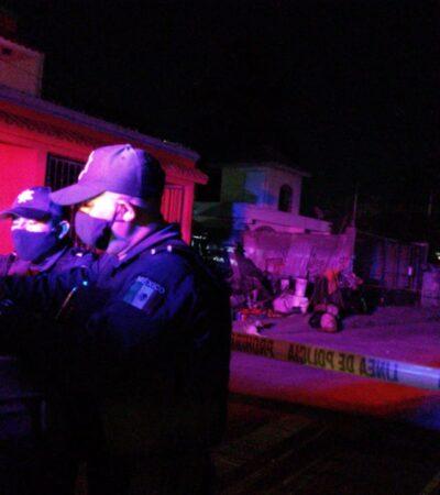 Disparan contra una vivienda de la Región 231 de Cancún; no hay lesionados