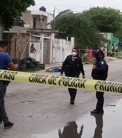 NO CAMBIA CANCÚN EL SEMÁFORO DE SU 'NUEVA NORMALIDAD': Ejecutan a transeúnte en Rancho Viejo