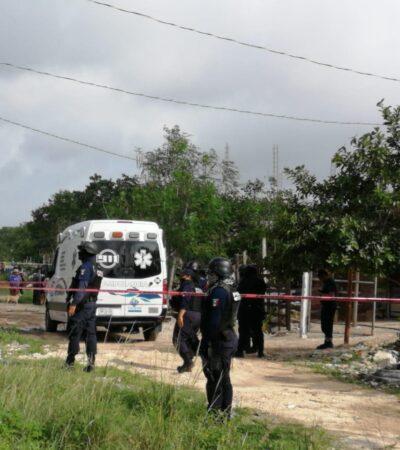 DOMINGO ROJO EN PLAYA: Asesinan de dos balazos a un hombre en fraccionamiento irregular In House