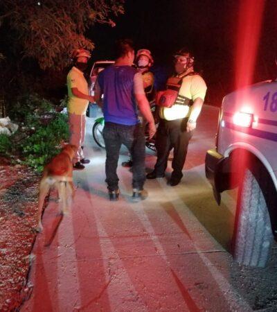 Albañil ebrio llega a exigir su semana y lo golpean en Playa del Carmen