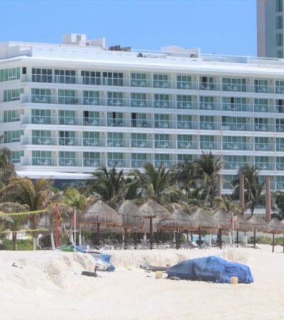 Arrancan operaciones 43 hoteles en Cancún con 'nueva normalidad'