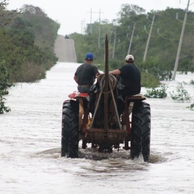 Analiza gobierno de QR emitir declaratoria de emergencia por daños provocados por la tormenta tropical 'Cristóbal'