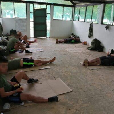 ESCANDALO DE SEDENA EN XTOMOC: Exponen condiciones infrahumanas en las que se encuentran militares contagiados de COVID-19 en centro de adiestramiento en Bacalar