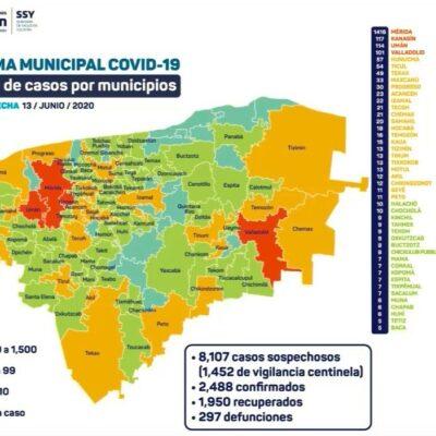 ADVIERTEN REBROTE DE COVID-19 EN YUCATÁN: Mauricio Vila prevé aumento de casos de coronavirus durante la reactivación económica; van dos mil 488 contagios
