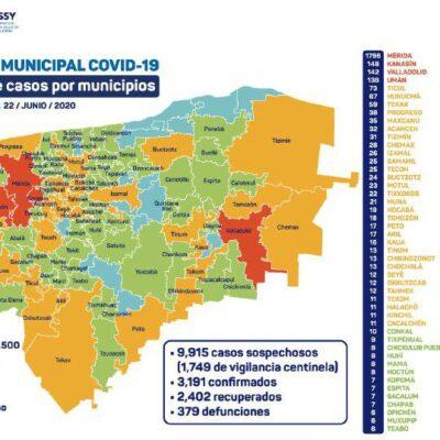 Muere bebé de seis meses por COVID-19 en Yucatán; van tres mil 191 casos positivos