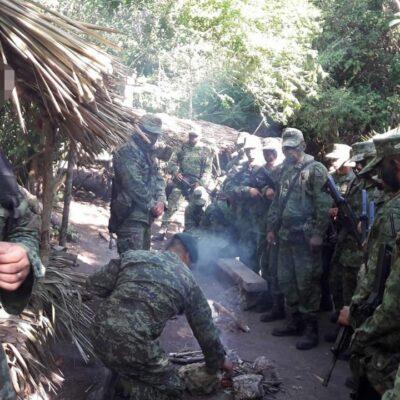 ALERTA MILITAR EN EL SUR DE QR… BROTE DE COVID-19 EN XTOMOC: Confirman contagio de al menos siete elementos del Ejército en centro de adiestramiento en Bacalar
