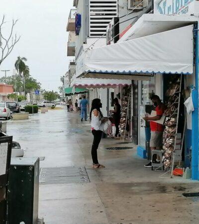 Chetumaleños retornan a las calles, pese a mantenerse en rojo el semáforo epidemiológico del estado