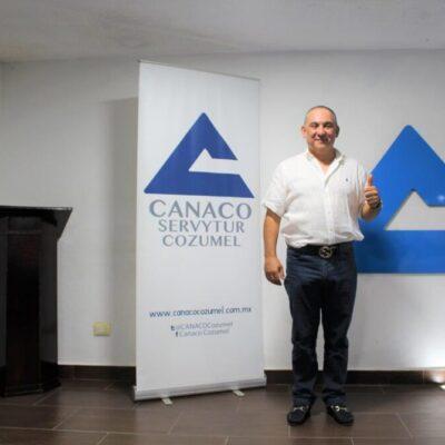 Llama Canaco a empresas a seguir las medidas sanitarias para favorecer la reactivación económica y turística en Cozumel