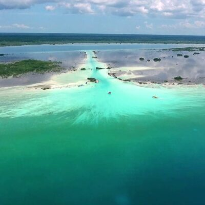 Laguna de Bacalar, con reactivación económica paulatina