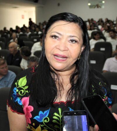 Lamenta Mildred Ávila falta de 'oficio político' en Congreso de Quintana Roo