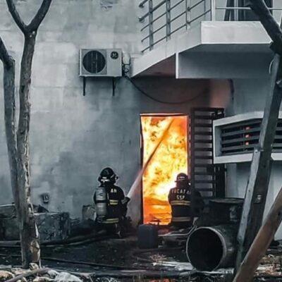 Incendio en fábrica de veladoras en Yucatán no cobró vidas