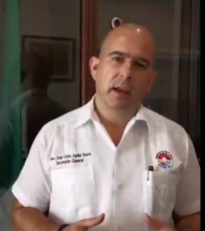 Renuncia Jorge Aguilar a la Secretaría General de BJ