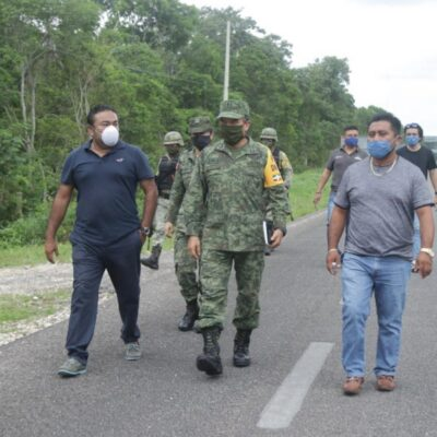 Ayuntamiento de Felipe Carrillo Puerto dona predio para construir base de la Guardia Nacional
