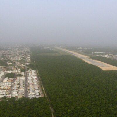 Polvo del Sahara todavía se encuentra sobre la Península de Yucatán, reporta Cenapred