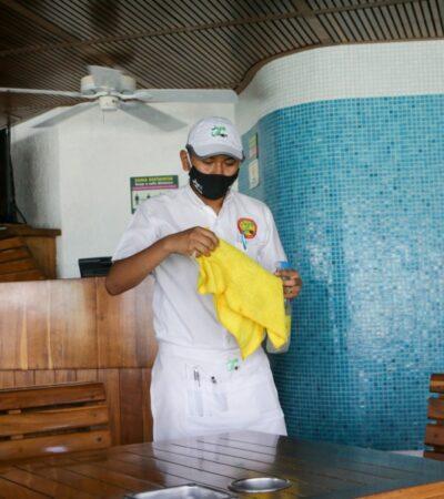 Ocupación hotelera de Cancún se acerca al 20 por ciento