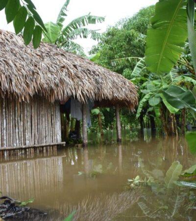 Permanecen incomunicadas familias de la comunidad Santa Lucía por daños en la carretera