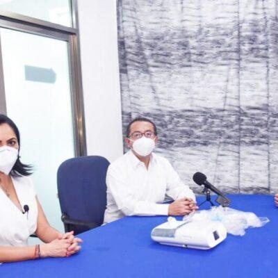 El Consejo Mexicano de Negocios dona a la Secretaría Salud 40 ventiladores para atender a personas con problemas respiratorios