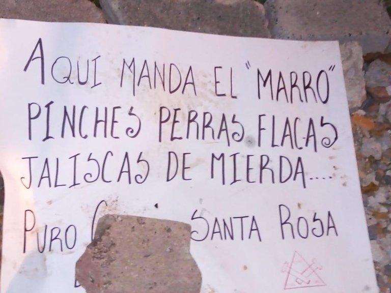 """""""MIEDO NO LES TENGO"""": Truena 'El Marro' contra el CJNG y el gobierno de AMLO tras operativos y detención de familiares"""