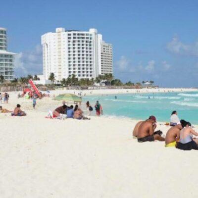 Reportan 15% de ocupación hotelera y arribo de 10 vuelos internacionales en Cancún