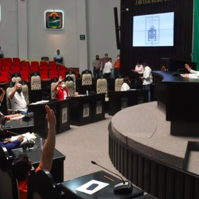 Turnan a comisiones diversas iniciativas presentadas por legisladores en el Congreso de Quintana Roo