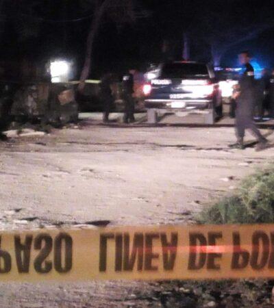 Se suicida hombre en una palapa en zona de invasión de Tulum