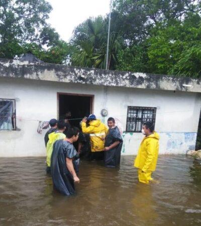 Piden donaciones en especie para habitantes damnificados de Pisté