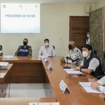 Instalan en Tulum el Comité Operativo Permanente Especializado en Fenómenos Hidrometeorológicos 2020