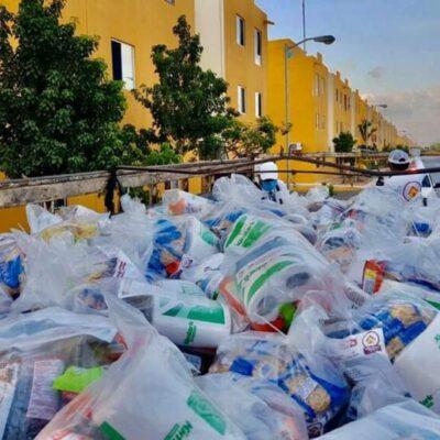 Denuncia regidor falta de transparencia en el reparto de despensas en Cancún