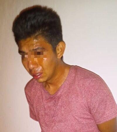 Vecinos capturan y dan golpiza a ladrón en Chetumal