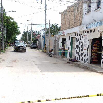 Indigente fallece asfixiado mientras desayunaba un pedazo de chicharrón en Cancún