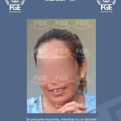 UN AÑO EN PRISIÓN POR APUÑALAR A SU PAREJA: Obtiene FGE vinculación a proceso contra una mujer por lesiones calificadas contra su cónyuge en Chetumal
