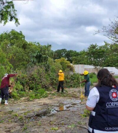 Activan protocolos de emergencia para atender a ciudadanos afectados por fuertes lluvias en todo el Estado